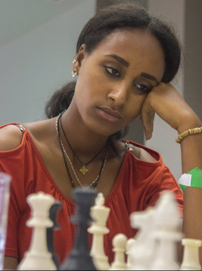 The charming Lidet Abate Haile of Ethiopia in action.  Photo credit Eastmond Mwenda of www.eastmondmwenda.co.ke.