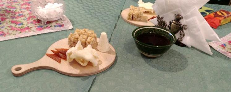 Ingredients to make 'Gubadiya'.