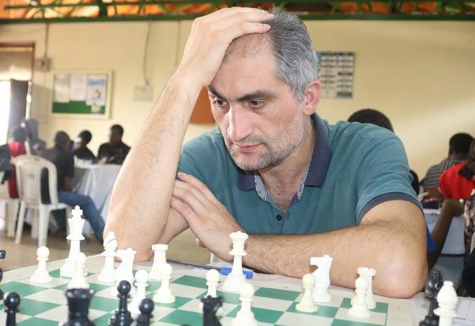 Mushfig Habilov of Nairobi Chess Club.