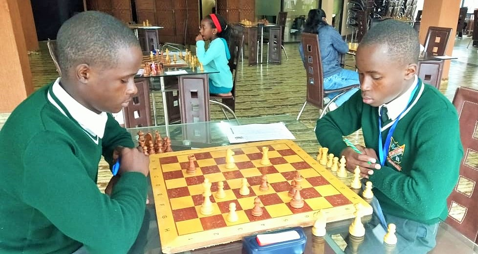 Photo from the Africa Schools Chess Championship.