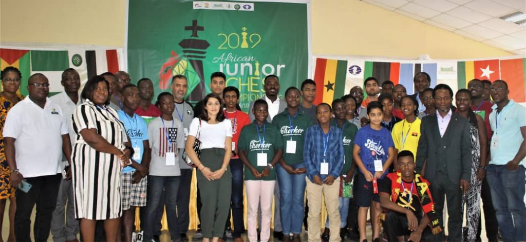 Players, Sponsors and Organisers, after the Technical Meeting! Photo Credit: Ogunsiku Babatunde.