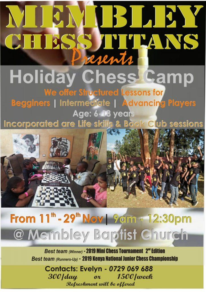 Membley Chess Titans poster.