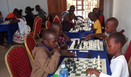The Junior Section of the 2019 Bungoma Open. Photo credit Anthony Kionga.