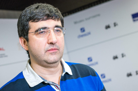 Vladimir Kramnik former World Champion who will be in action in the Blitz Championship.