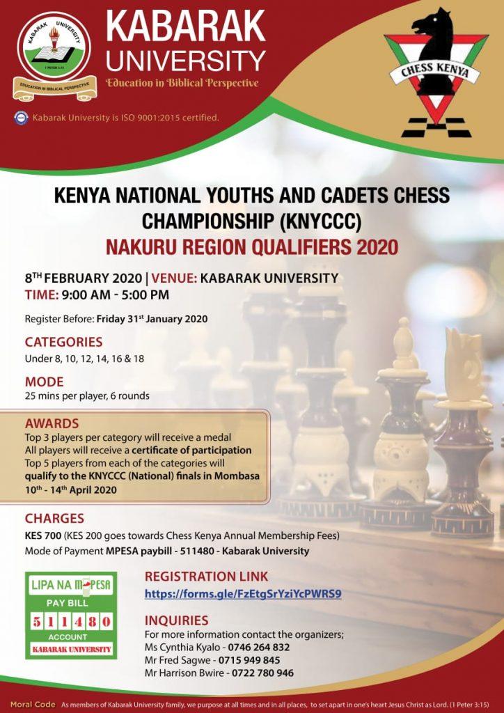 Nakuru Regional poster.