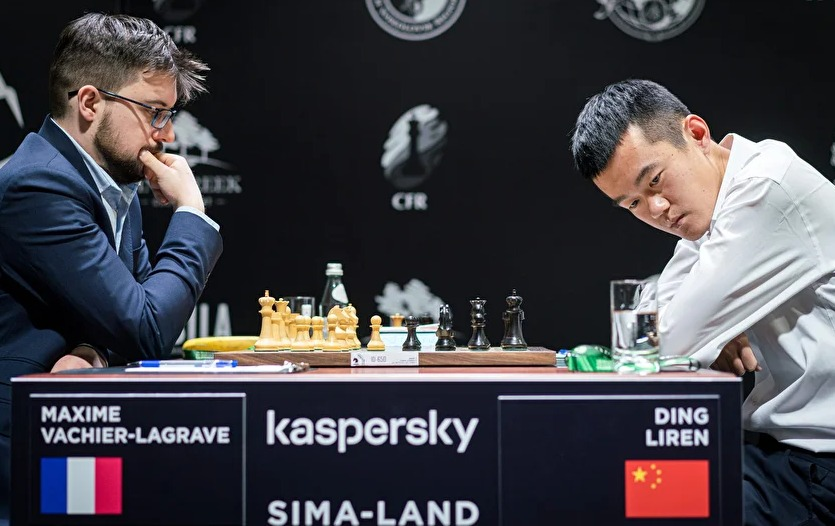 MVL takes on an unhappy Ding Liren!