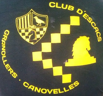Logo of the Granollers Chess Club,