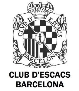 Logo for Club d'Escacs Barcelona.