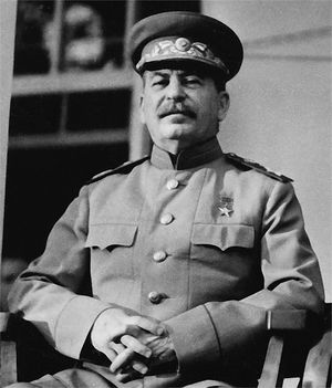 Joseph Stalin the leader of the USSR from 1924 to 1953 who was born in the town of Gori in eastern Georgia. Photo credit www.kids.kiddle.co.