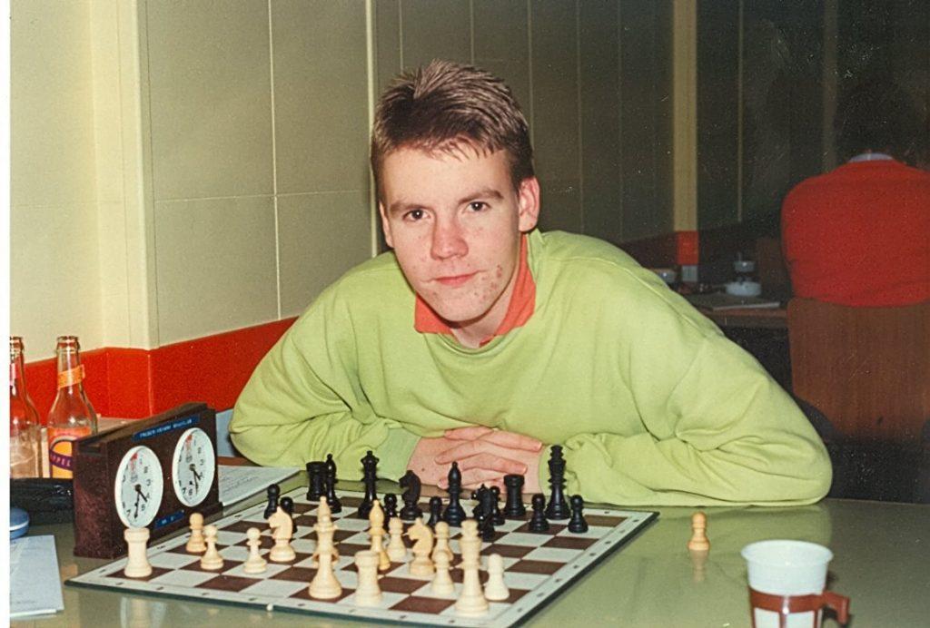The young Jacob Aagaard. Photo credit Henrik Mortensen.