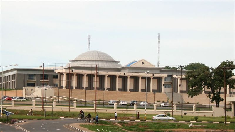 National Assembly building in Lilongwe. Photo credit www.kiddle.co.
