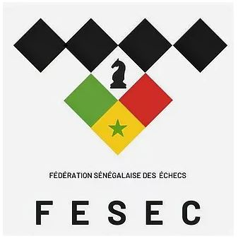 Logo of the Senegal Chess Federation.