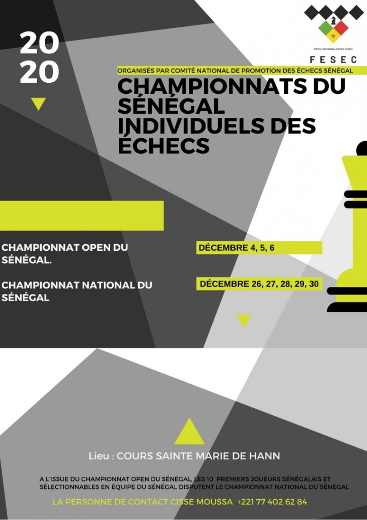 Poster for the event.