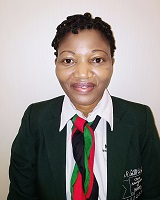 Ms Susan Namangale the President of the Chess Association of Malawi.