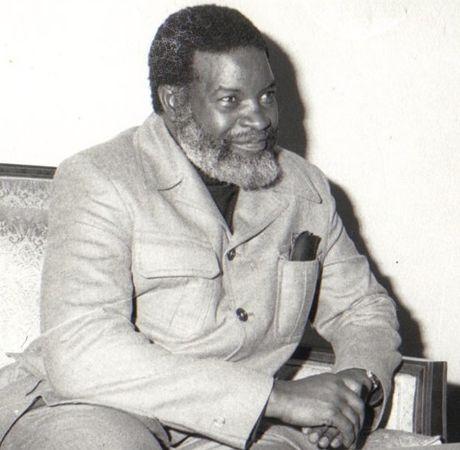 Samuel Shafiishuna Daniel Nujoma the first President of Namibia. Photo credit www.kiddle.co