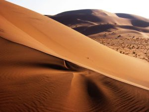 Sand dunes in Namibia. Photo credit www.kiddle.co