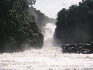 The Murchison Waterfalls. Photo credit www.kiddle.co