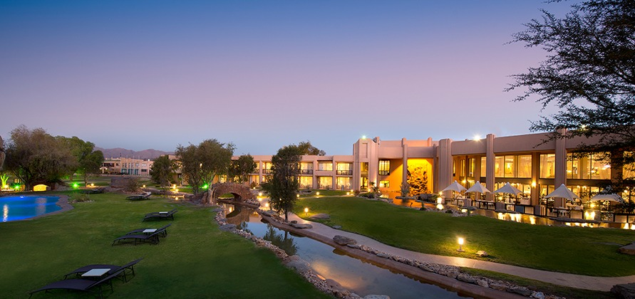 The playing venue Windhoek Country Club Resort. Photo credit www.legacyhotels.co.za/