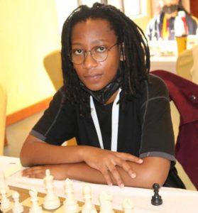 WCM Lucy Wanjiru the current Kenya National Champion.
