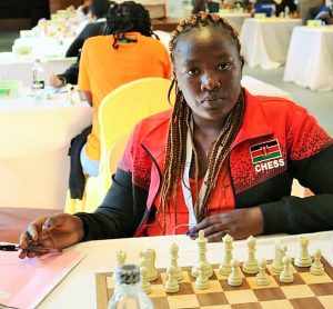 WFM Joyce Nyaruai of Kenya.