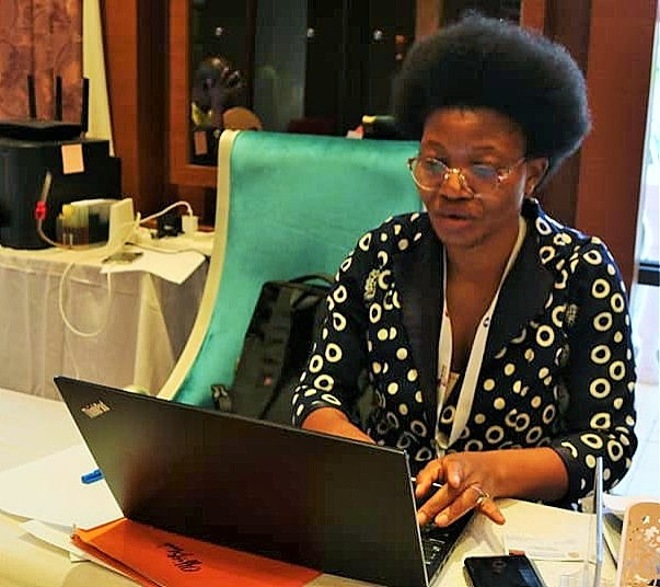 Ms Susan Namangale the President of the Chess Association of Malawi (CHESSAM).
