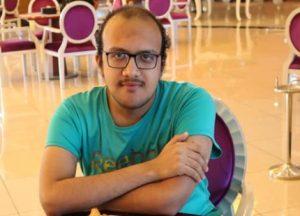 GM Adham Fawzy of Egypt. Photo credit Makhosi Nyirenda.