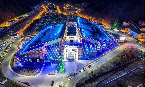 Galaxy Entertainment And Leisure Complex which is the playing venue. Photo credit FIDE.