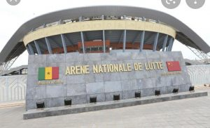 The playing venue was the Arène Nationale in Dakar, Senegal.