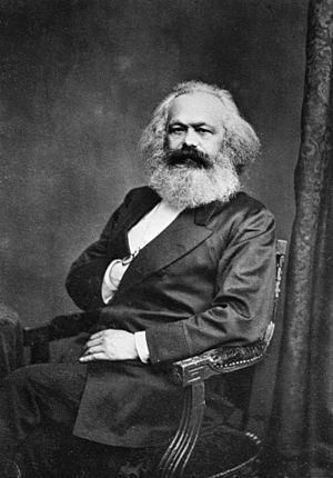 Karl Marx in 1875. Photo credit www.kiddle.co