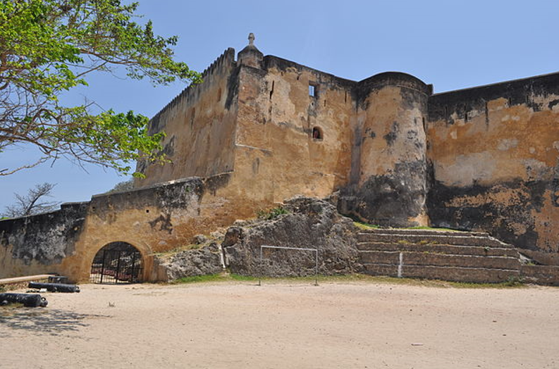 Fort Jesus. Photo credit Alex Wafula (Wikicommons).