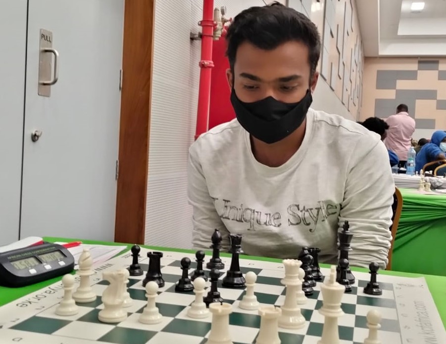 Jay Naker - the man who defeated Kenya National Champion Mehul Gohil in round 2.