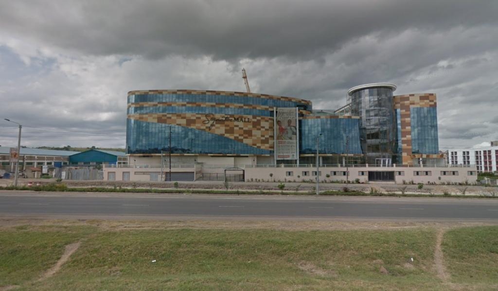 The futuristic Signature Mall along Mombasa Road.